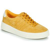 Schuhe Damen Sneaker Low Gola GOLA SUPER COURT SUEDE Senfgelb