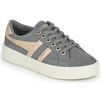 Schuhe Damen Sneaker Low Gola BASELINE MARK COX MIRROR Grau / Gold