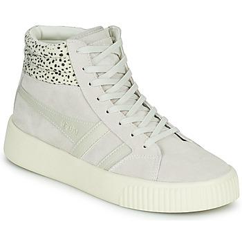 Schuhe Damen Sneaker Low Gola GOLA BASELINE SAVANNA Weiss