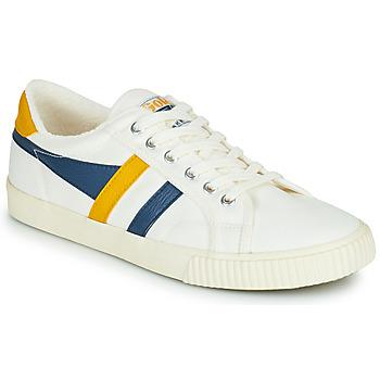 Schuhe Herren Sneaker Low Gola GOLA TENNIS MARK COX Weiss / Blau / Gelb