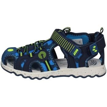 Schuhe Jungen Sportliche Sandalen Asso AG-12100 BLAU