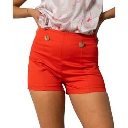Kleidung Damen Shorts / Bermudas Rinascimento CFC0103674003 Rosso