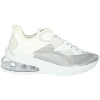 Schuhe Damen Sneaker Low Date AURA HONEY Weiss