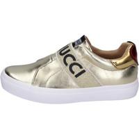Schuhe Mädchen Slip on Fiorucci BH179 Gold