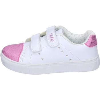 Schuhe Mädchen Sneaker Low Solo Soprani BH180 Weiß
