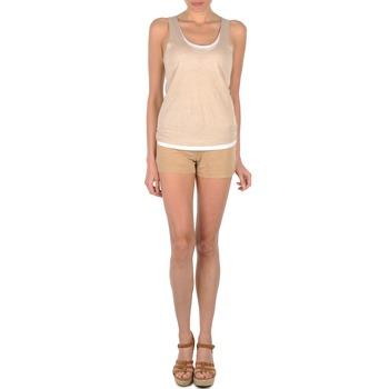 Kleidung Damen Shorts / Bermudas Majestic SOLENE Beige