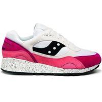 Schuhe Sneaker Low Saucony Baskets  shadow 6000 blanc/gris