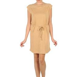 Kleidung Damen Kurze Kleider Majestic CAMELIA Beige