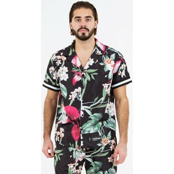 Kleidung Herren Kurzärmelige Hemden Sixth June Chemise  tropical noir
