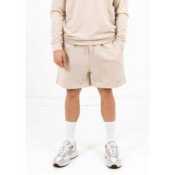 Kleidung Herren Shorts / Bermudas Sixth June Short  signature velvet logo beige