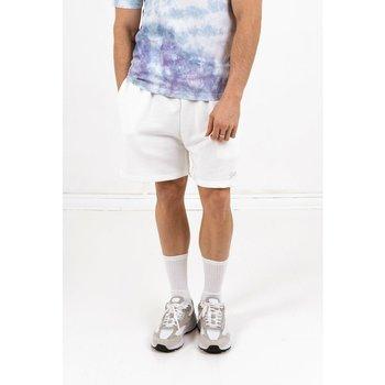 Kleidung Herren Shorts / Bermudas Sixth June Short  signature velvet logo blanc