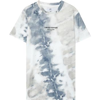 Kleidung Herren T-Shirts Sixth June T-shirt  tie dye beige