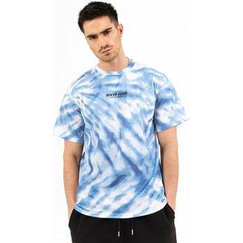 Kleidung Herren T-Shirts Sixth June T-shirt  tie dye bleu