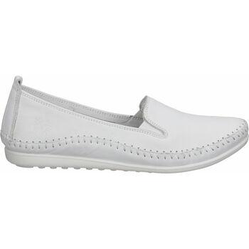 Schuhe Damen Slipper Cosmos Comfort Slipper Weiß