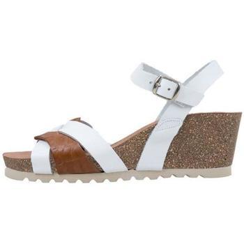 Schuhe Damen Sandalen / Sandaletten Senses & Shoes  Weiss