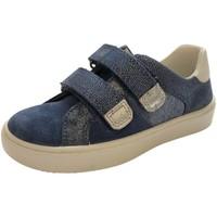 Schuhe Mädchen Sneaker Low Legero Klettschuhe Halbschuh L 1-000491-8000 blau