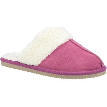 Schuhe Damen Hausschuhe Hush puppies  Pink