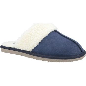 Schuhe Damen Hausschuhe Hush puppies  Marineblau