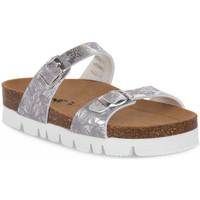 Schuhe Damen Pantoffel Bioline 9212 VELINA ARGENTO Grigio