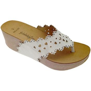 Schuhe Damen Zehensandalen De Fonseca DEFONSANTAFEbia bianco