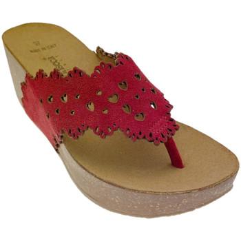 Schuhe Damen Zehensandalen De Fonseca DEFONSANTAFEros rosso