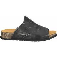 Schuhe Damen Pantoffel Think Pantoletten Schwarz