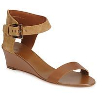 Schuhe Damen Sandalen / Sandaletten Hugo Boss Black SAFFY Braun