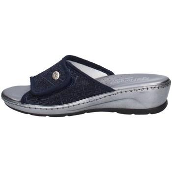 Schuhe Damen Pantoffel Florance 22500 C Blau