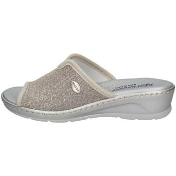 Schuhe Damen Pantoffel Florance 22500 B Silbern