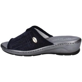 Schuhe Damen Pantoffel Florance 22500 B Blau