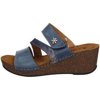 Schuhe Damen Sandalen / Sandaletten Florance 22234-1 Blau