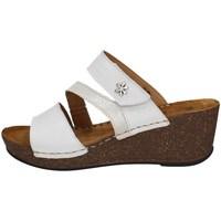 Schuhe Damen Sandalen / Sandaletten Florance 22234-1 Weiss