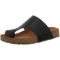 Schuhe Damen Zehensandalen Haflinger Pantoletten 819061 0 1639 schwarz