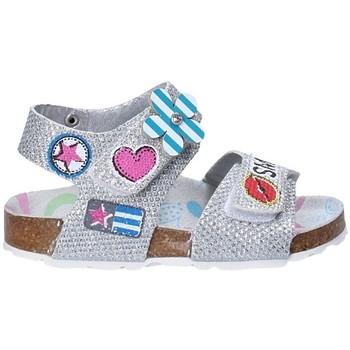 Schuhe Kinder Sandalen / Sandaletten Asso 56609 Grau