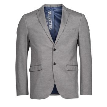 Kleidung Herren Jacken / Blazers Selected SLHSLIM JIM Grau