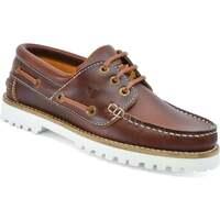 Schuhe Damen Bootsschuhe Seajure Bootsschuhe Alankuda Braun