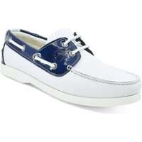 Schuhe Damen Bootsschuhe Seajure Bootsschuhe Ffryes Marineblau und Weiß