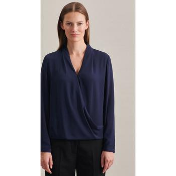 Kleidung Damen Tops / Blusen Seidensticker Schwarze Rose 60.122645 Dunkelblau