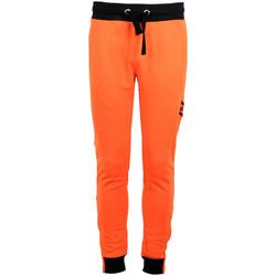 Kleidung Herren Jogginghosen Bikkembergs  Orange