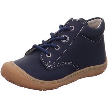 Schuhe Jungen Boots Ricosta Schnuerschuhe 10 1221000-170 blau