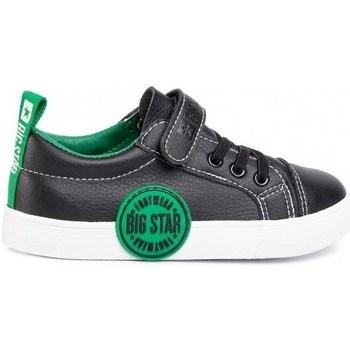 Schuhe Kinder Sneaker Low Big Star FF374087 Schwarz