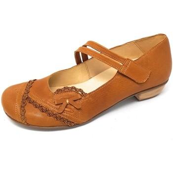 Schuhe Damen Ballerinas Brako BEM tuscany ambra 6439 ambra braun