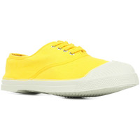 Schuhe Damen Tennisschuhe Bensimon Tennis Lacet Gelb