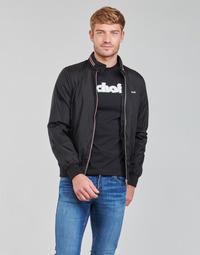 Kleidung Herren Jacken Schott CABLS21R Schwarz