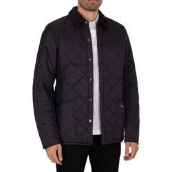 Kleidung Herren Jacken Barbour Heritage Liddesdale Quiltjacke blau