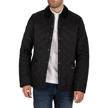 Kleidung Herren Jacken Barbour Heritage Liddesdale Quiltjacke schwarz