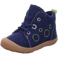 Schuhe Jungen Babyschuhe Ricosta Schnuerschuhe 12244 74 1224400/174 blau