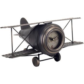 Home Uhren Signes Grimalt Tabletop Clock Flugzeug Negro