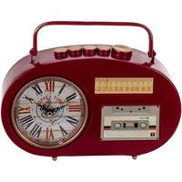 Home Uhren Signes Grimalt Tabletop Uhr Transistor Rojo