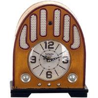 Home Uhren Signes Grimalt Tabletop-Radiowecker Beige
